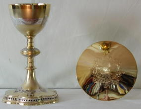 French Gothic Antique Chalice