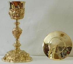 French Baroque Antique Chalice