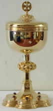 Sterling Silver English Ciborium