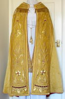 Antique Gold Cope and Stole