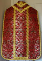 Red Roman Vestment