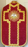 Red French Roman Vestment