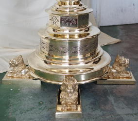Solid Brass Eagle Lectern