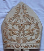 Gold Embroidered Mitre