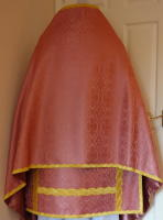 Rose High Mass Set of Roman Church Vestments