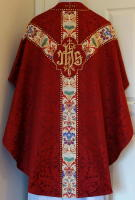 Red Gothic Vestment