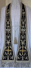 Black Preaching Stole